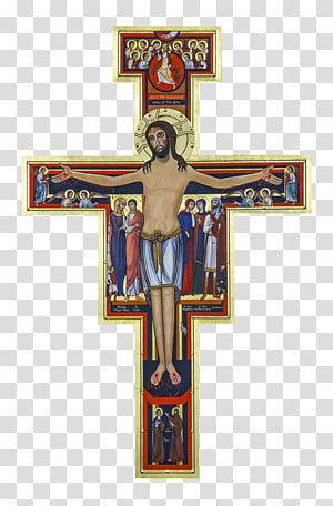San Damiano, Assisi San Damiano cross Crucifix Secular.