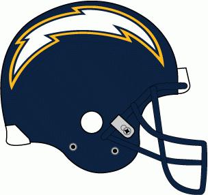 San Diego Chargers Helmet Logo.