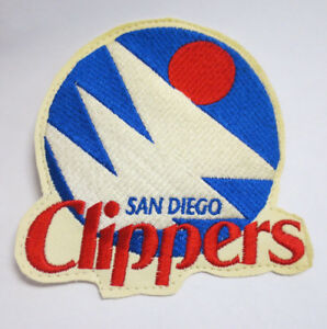 Details about SAN DIEGO CLIPPERS PATCH NBA BASKETBALL STITCH VINTAGE RETRO  VTG LOGO.