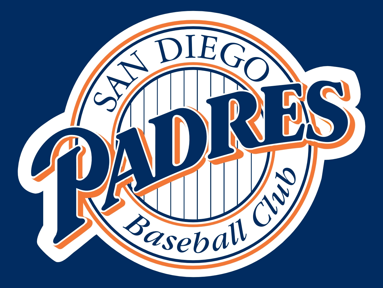 San Diego Padres Logo Clip Art free image.