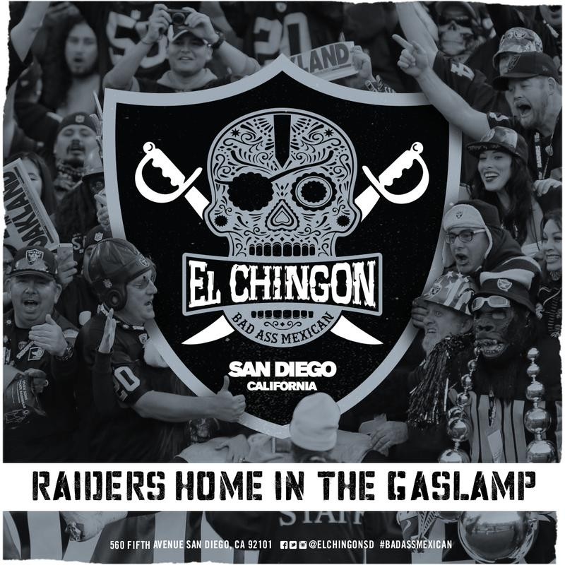 Raiders Game at El Chingon.