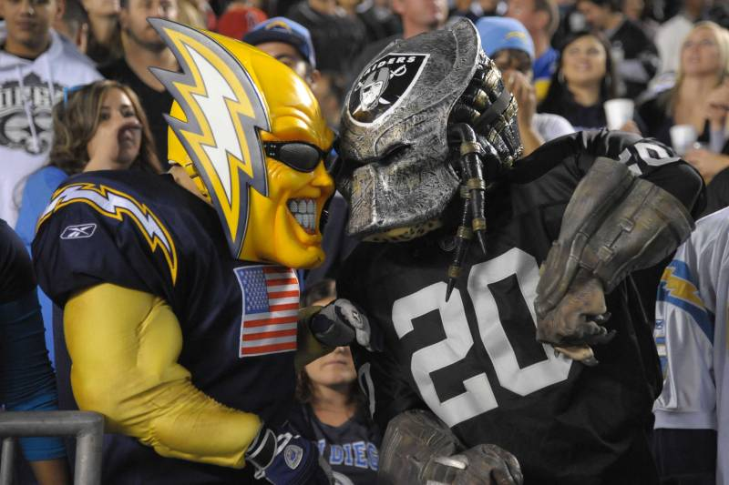 A Chargers Fan Guide to Hating the Raiders.