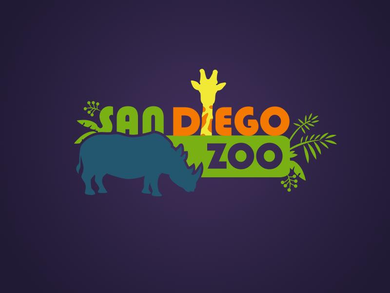 San Diego Zoo by Chris Marano on Dribbble.