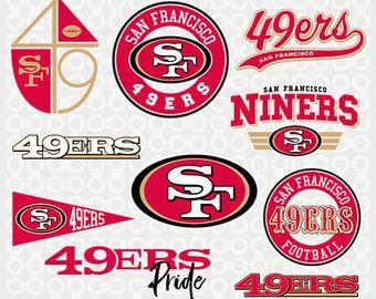 San Francisco 49ers SVG, Football, 49ers Clipart, San.