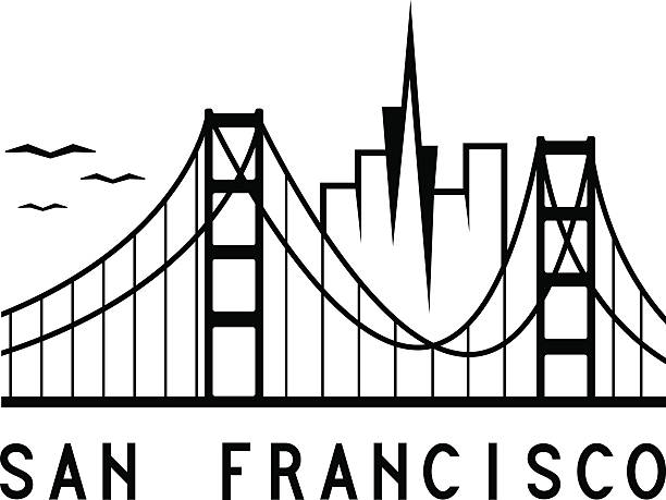 San Francisco Bridge Clipart.