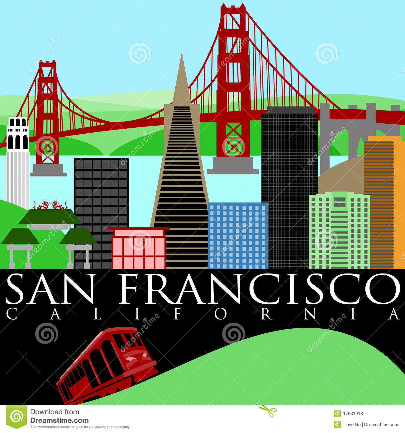 Free san francisco clipart 5 » Clipart Station.