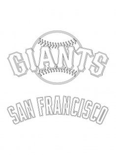 San Francisco Giants Clipart Logo.