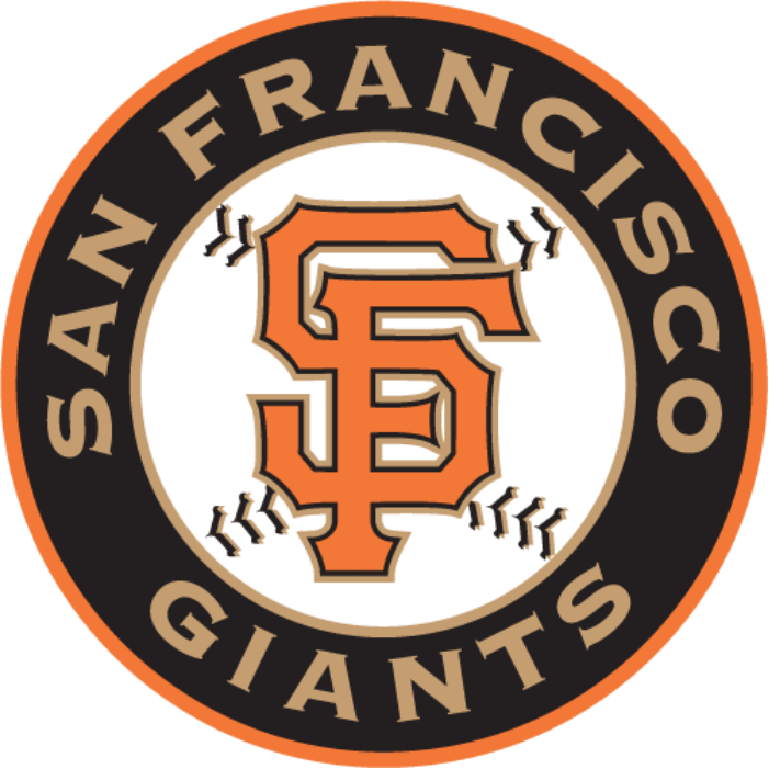 Giants Baseball Clipart.