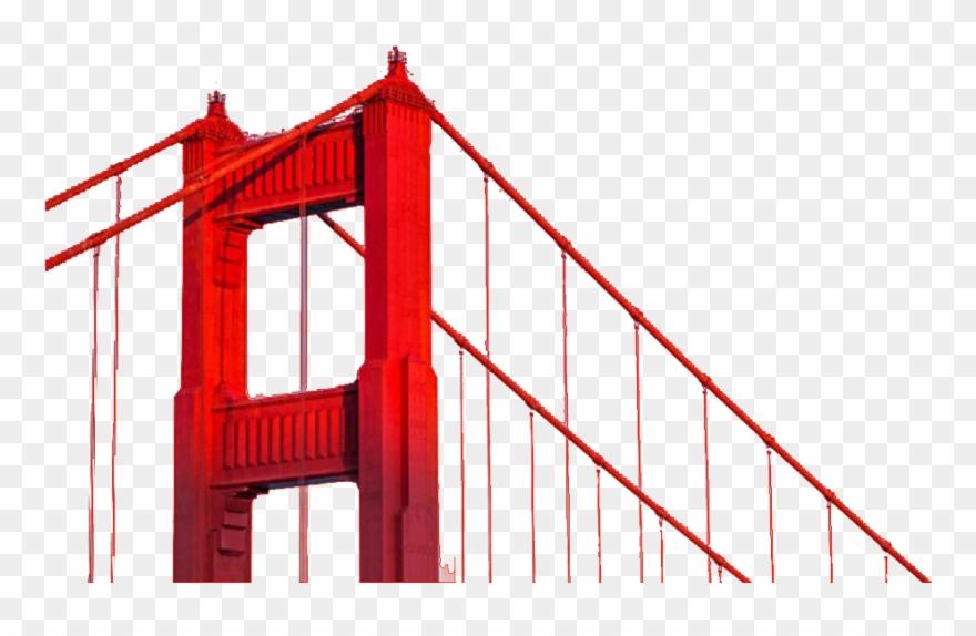 San Francisco Bridge Png.