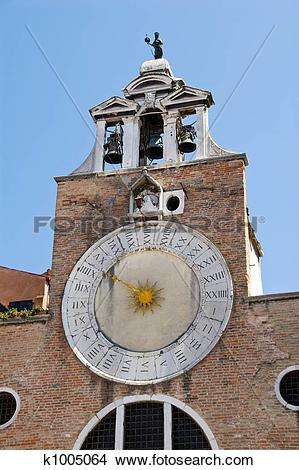 Stock Photo of San Giacomo di Rialto's k1005064.