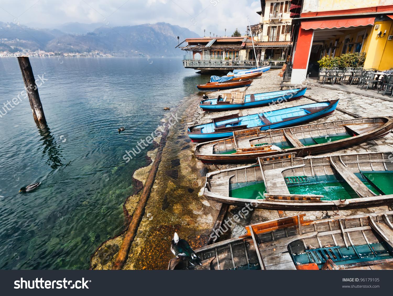 Lake Orta Orta San Giulio Italy Stock Photo 96179105.