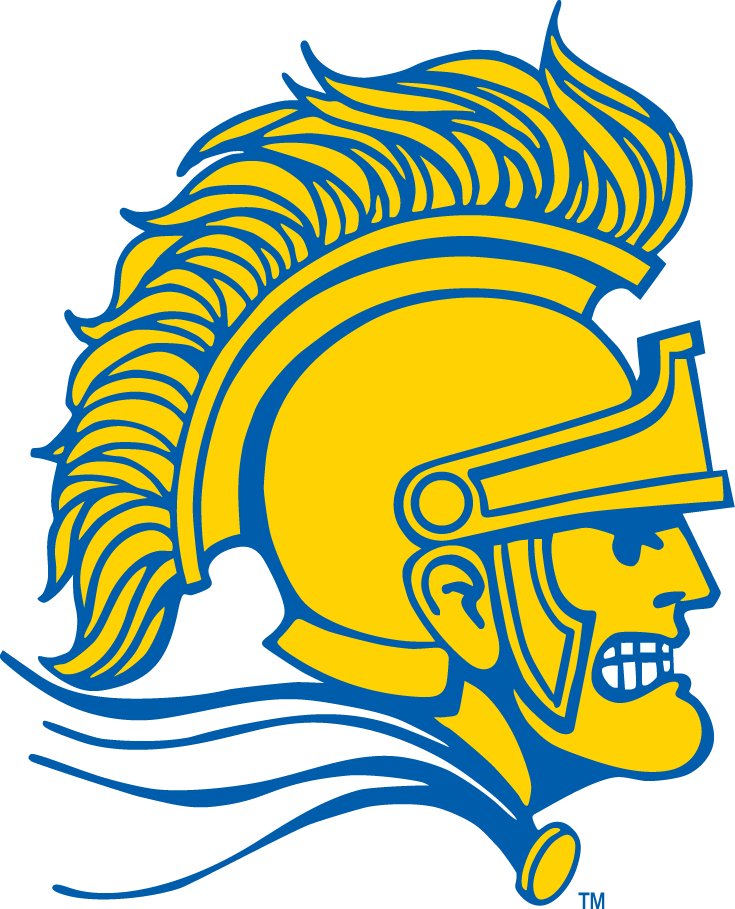 San Jose State Spartans Mascot Logo.