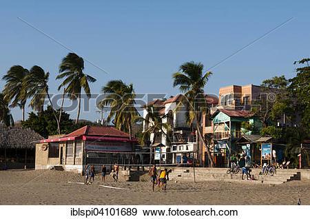 Stock Photograph of San Juan del Sur, Nicaragua, North America.