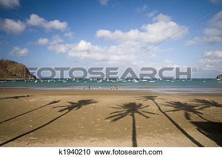 Stock Photography of beach san juan del sur nicaragua k1940210.