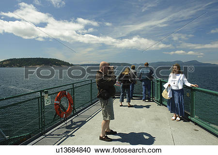 Stock Photography of Anacortes, WA, Washington, Puget Sound, San.