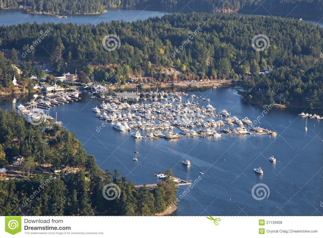San Juan Islands Washington State Royalty Free Stock Image.