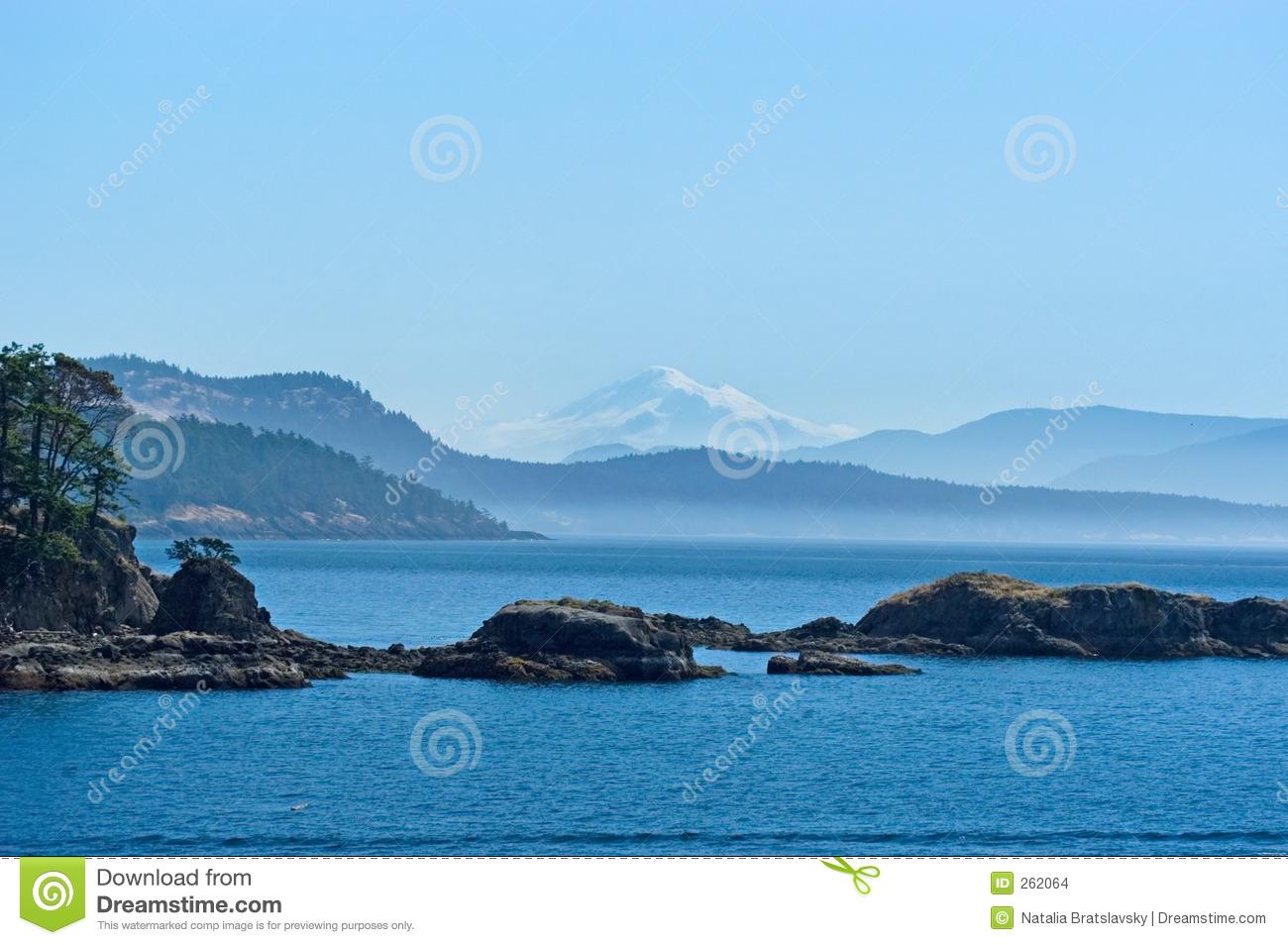 San Juan Islands Stock Images.