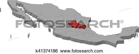 Clip Art of Map.