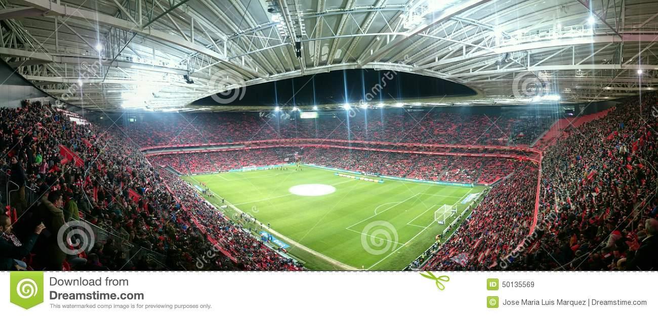 San Mames Stadium Bilbao Editorial Stock Image.