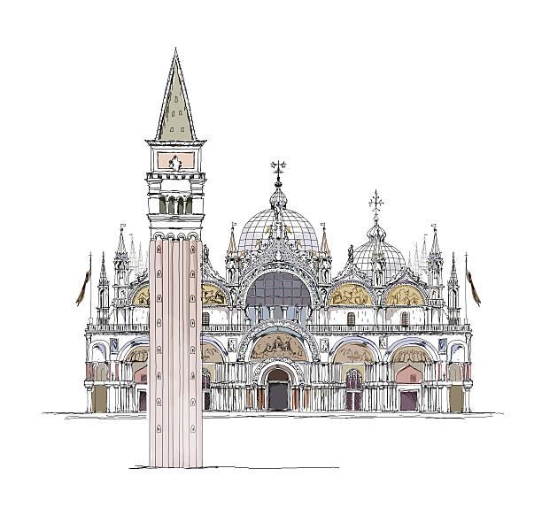 Piazza San Marco Clip Art, Vector Images & Illustrations.
