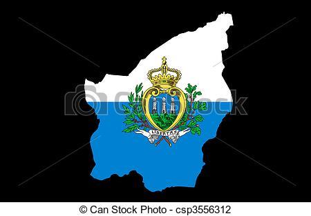 Clip Art of Most Serene Republic of San Marino csp3556312.