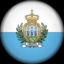 San Marino flag clipart.