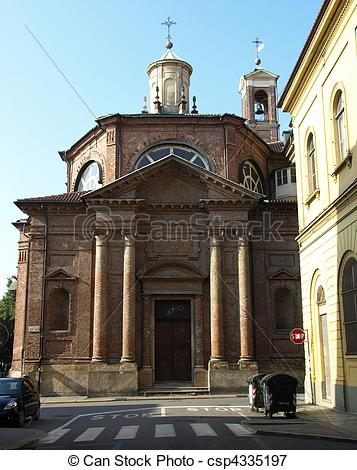 Picture of San Michele Church, Turin.
