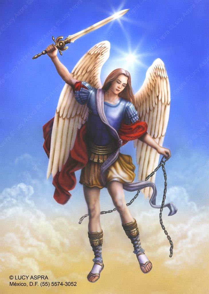 San Miguel como protector.