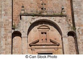 Stock Photo of San Millan Church of Segovia.
