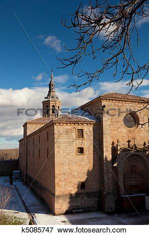 Picture of Monastery of Yuso, San Millan de la Cogolla, La Rioja.