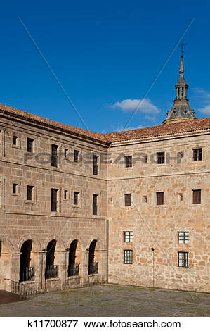 Picture of Yuso monastery, San Millan de la Cogolla, La Rioja.