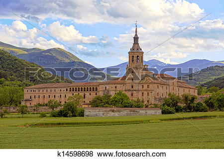 Pictures of Monastery of Yuso, San Millan de la Cogolla k14598698.