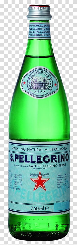 S.Pellegrino transparent background PNG cliparts free.