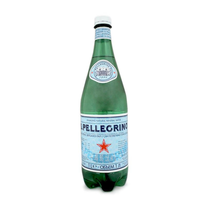 San Pellegrino Sparkling Water 1L.