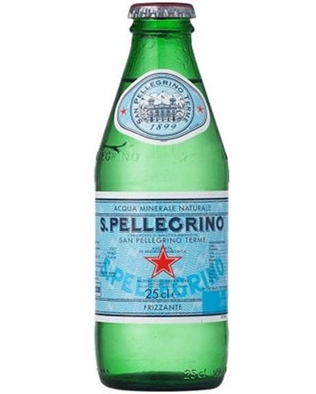 Sparkling water San Pellegrino 250ml.