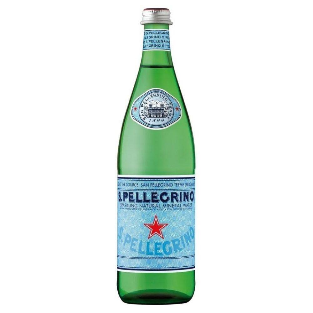 S. Pellegrino Sparkling Natural Mineral Water 750mL.