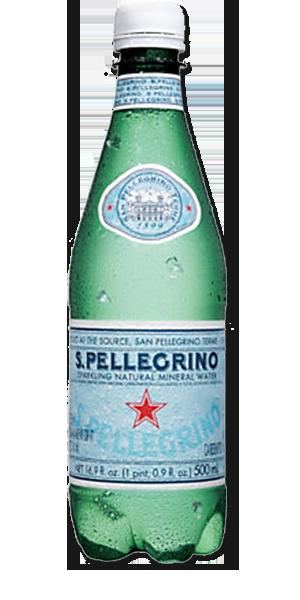 SAN PELLEGRINO Sparkling Natural Mineral Water.