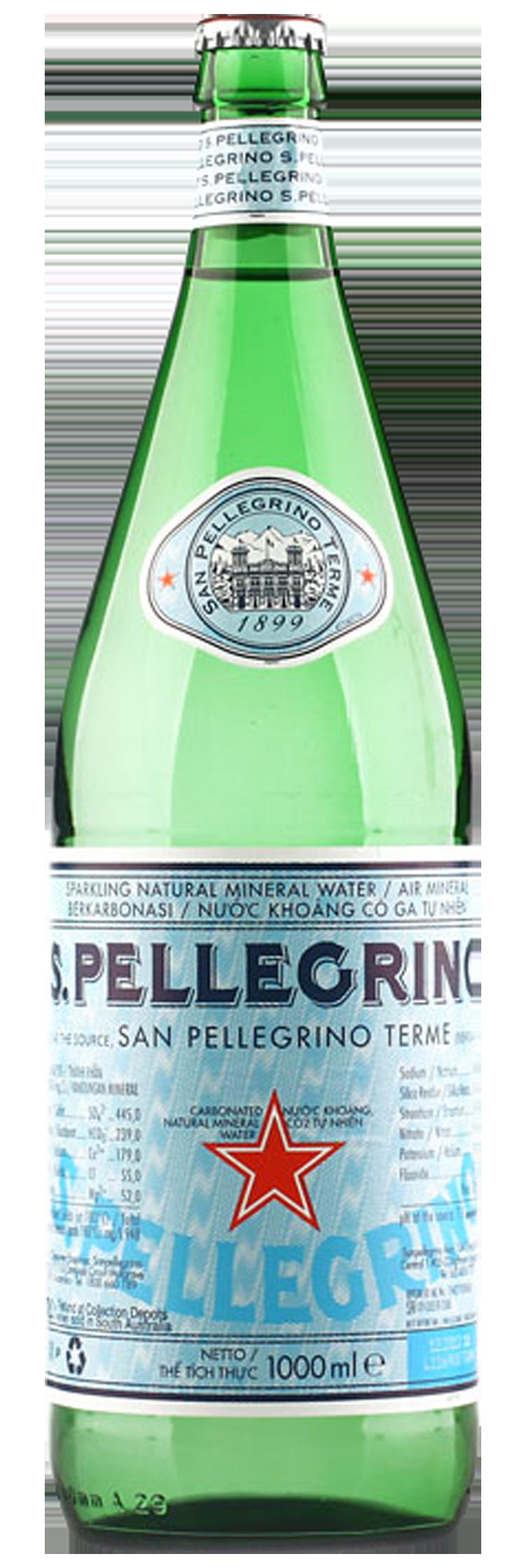 San Pellegrino Sparkling Mineral Water 12 x 750ml.