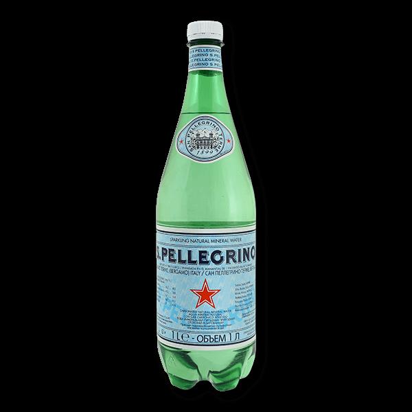 SANPELLEGRINO Sparkling Natural Mineral Water (1L).