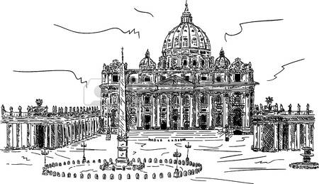 2,061 Vatican Stock Vector Illustration And Royalty Free Vatican.