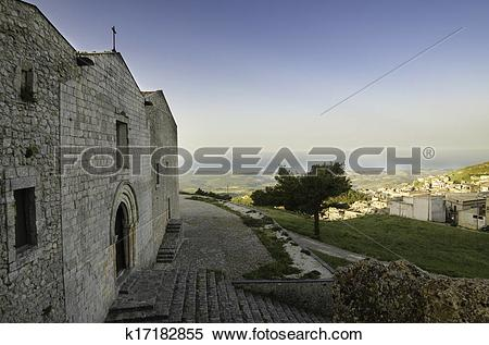 Stock Image of San Salvatore church (Caltabellota) k17182855.