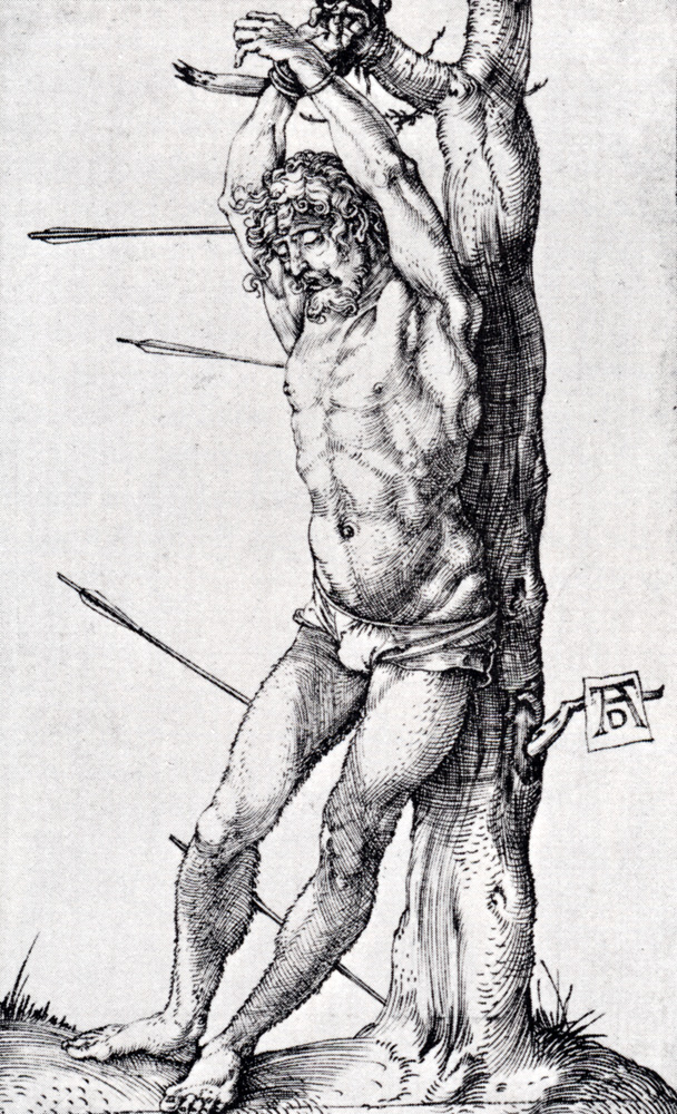 St. Sebastian At The Tree, 1501.