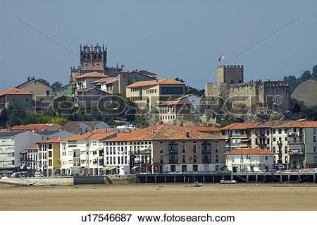 Picture of Spain, Cantabria, Santander, San vicente barquera.