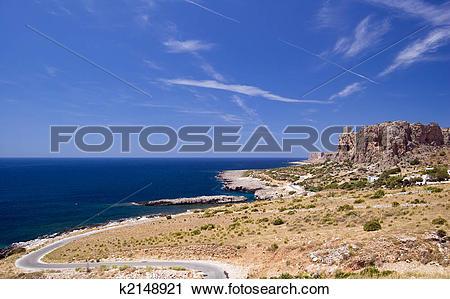 Stock Photography of Sicily San Vito Lo Capo k2148921.