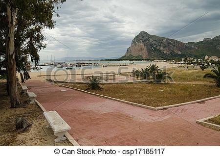 Stock Photography of San Vito lo Capo, Sicily, Italy csp17185117.