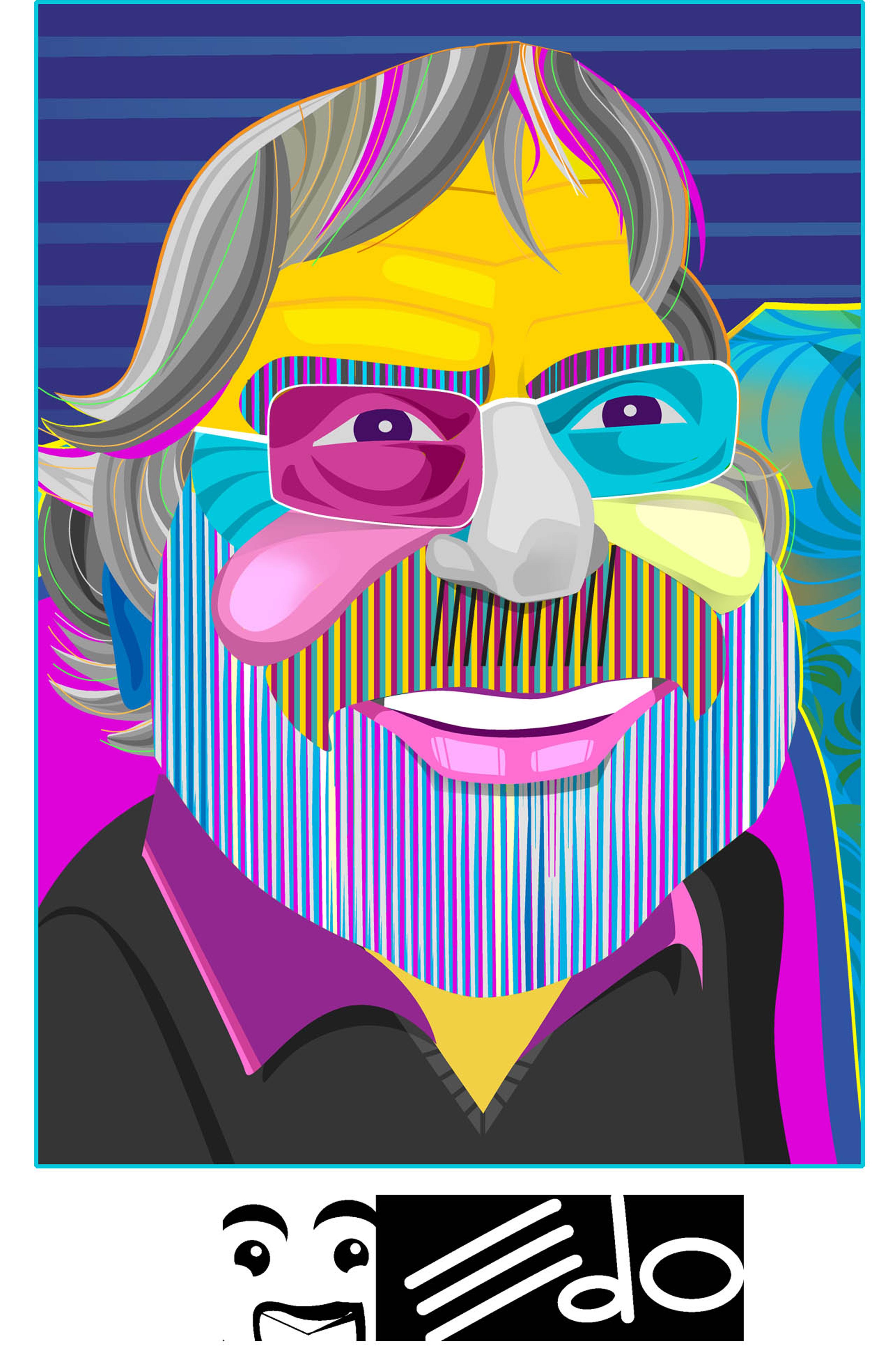 PORTRAIT OF AN ARTIST EDO Eduardo Sanabria.