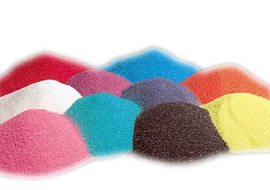 Colored Sand Art Clipart.