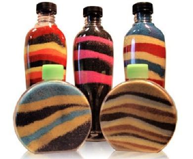 Clip Art Bottles Sand Art Clipart.