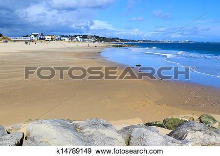 Stock Photograph of Sandbanks Dorset k14789149.