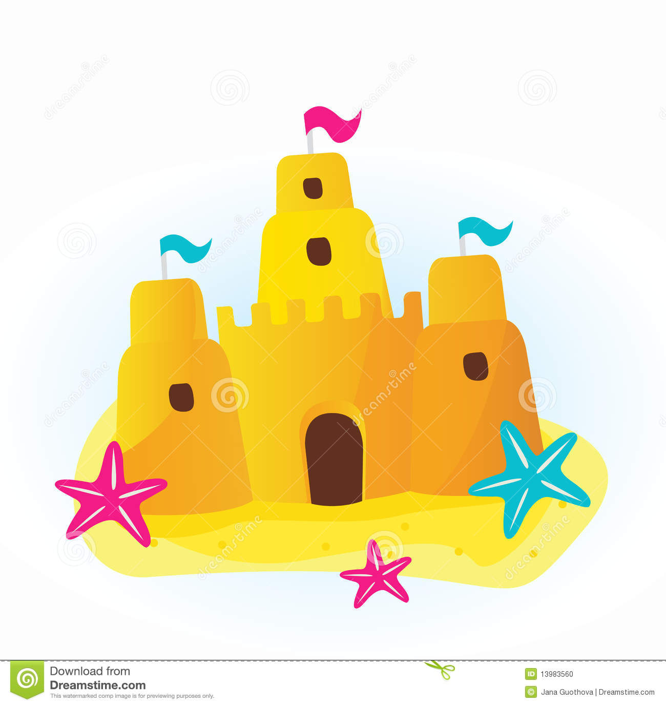 Sand Castle Clip Art & Sand Castle Clip Art Clip Art Images.